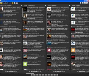 Tweetdeck screen shot