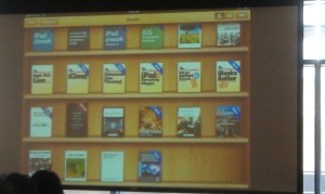 iBooks folder