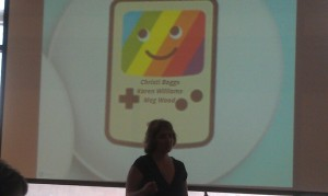 Christi talks about gamification