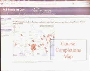 Course completions for TAMU