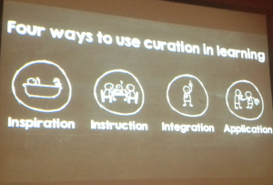 Four Ways of curation for learning