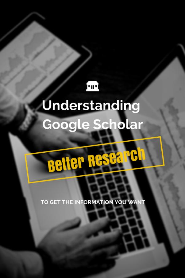 Understanding Google Scholar