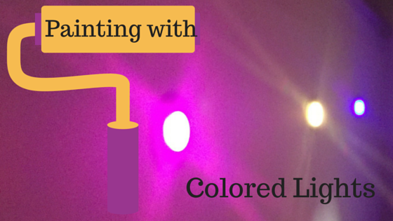 Painting with Colored Lights
