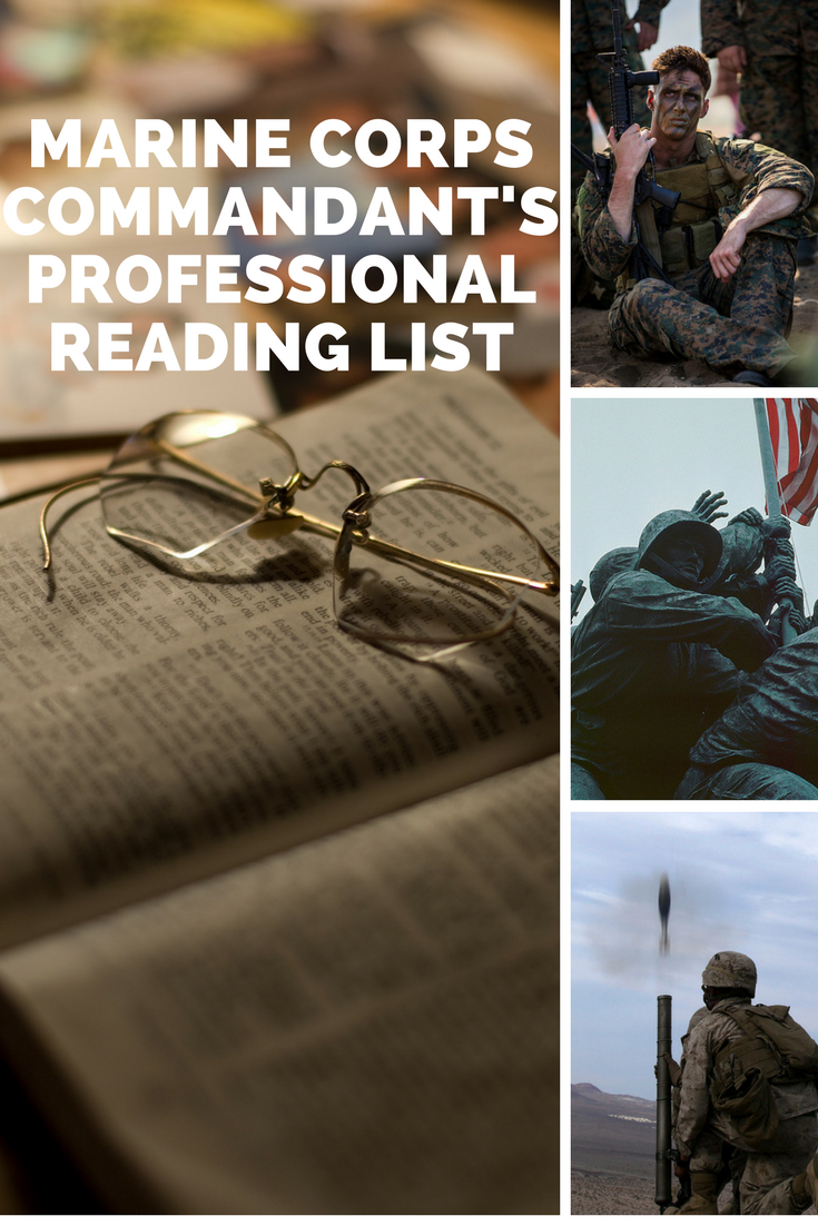 reading list for the marine corp Information for marines training and education marine corps 101 marine corps reading list marine leader development college of distance education and training.